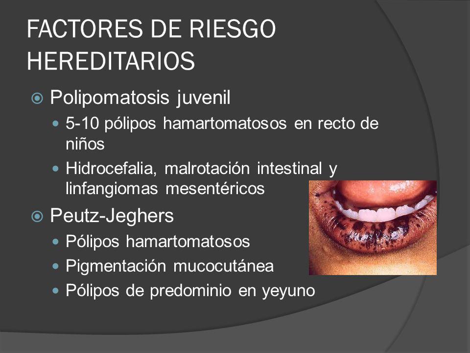 FACTORES DE RIESGO HEREDITARIOS