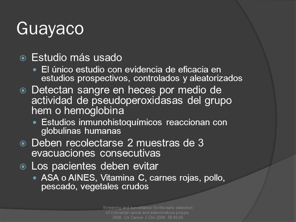 Guayaco Estudio más usado