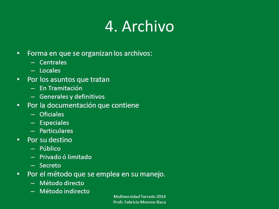 Multiversidad Torreón 2014 Profr. Fabricio Moreno Baca