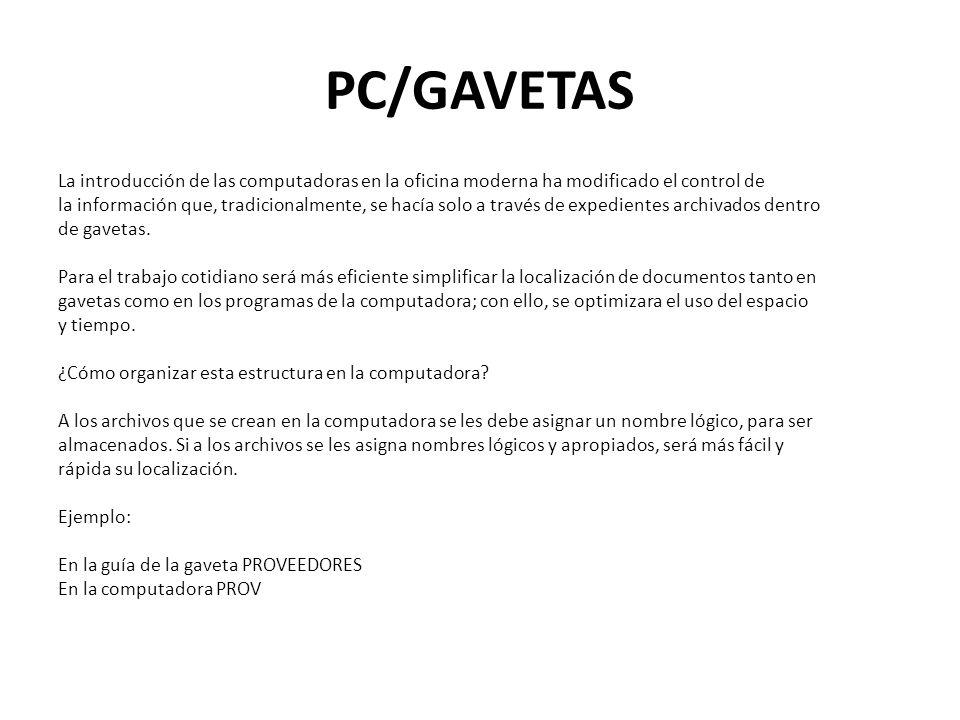PC/GAVETAS
