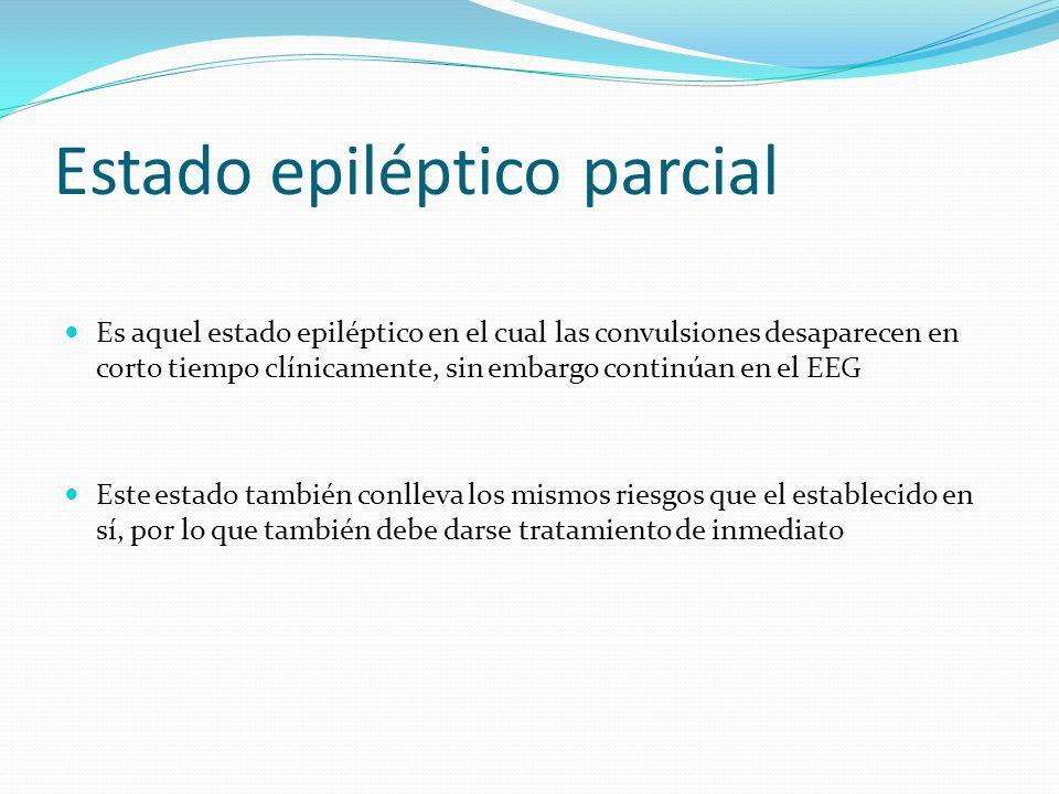 Estado epiléptico parcial