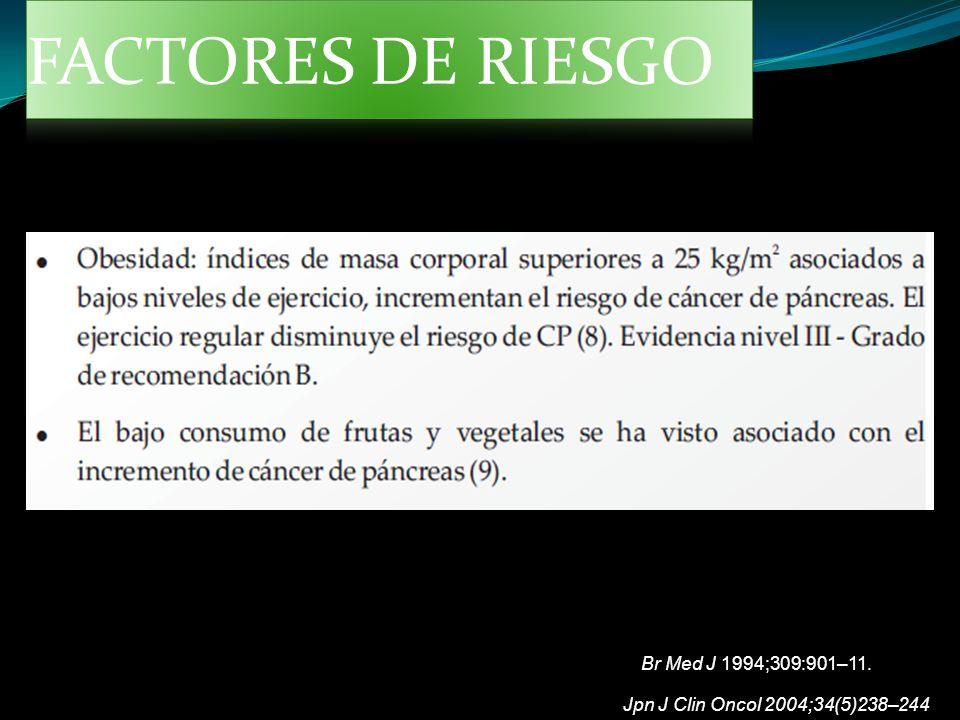 FACTORES DE RIESGO Br Med J 1994;309:901–11.