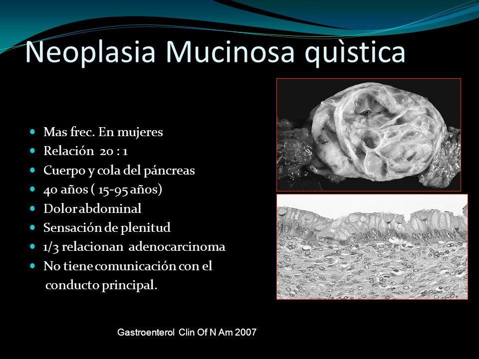 Neoplasia Mucinosa quìstica
