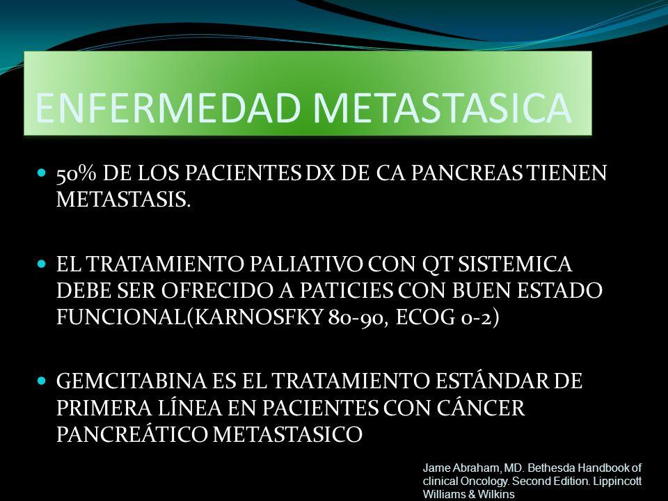 ENFERMEDAD METASTASICA
