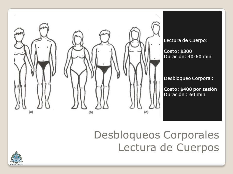 Desbloqueos Corporales Lectura de Cuerpos