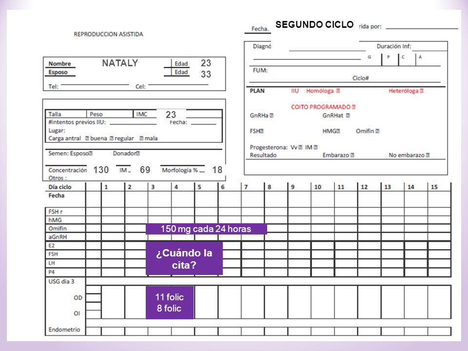 SEGUNDO CICLO NATALY. 23. 33. CASO: