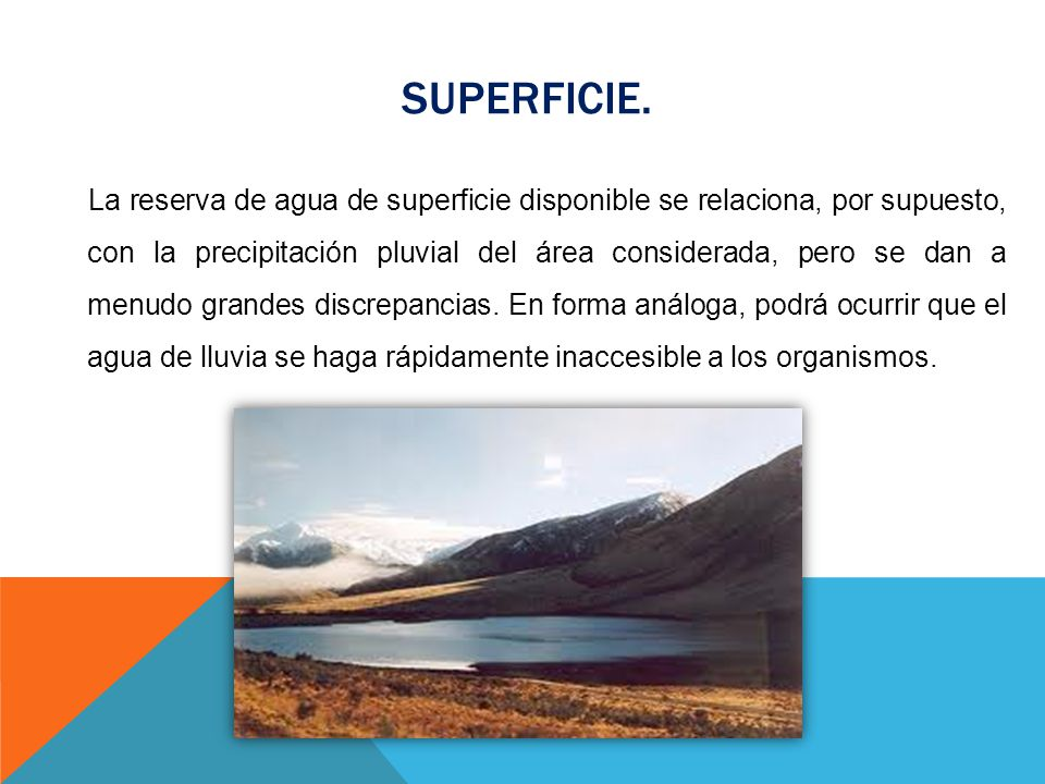 SUPERFICIE.
