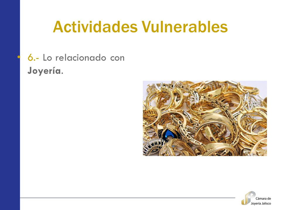 Actividades Vulnerables