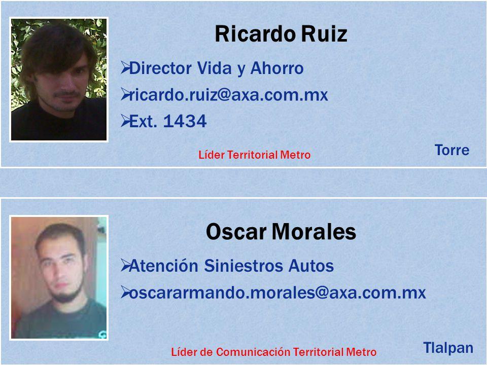 Ricardo Ruiz Oscar Morales
