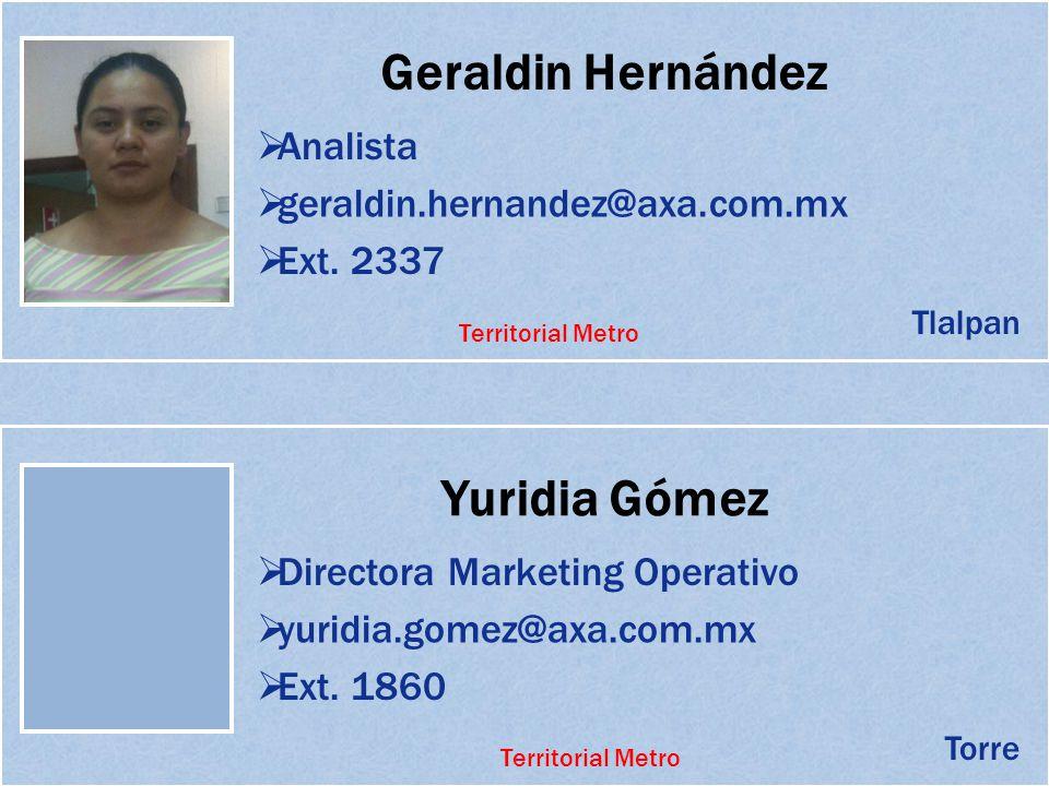 Geraldin Hernández Yuridia Gómez