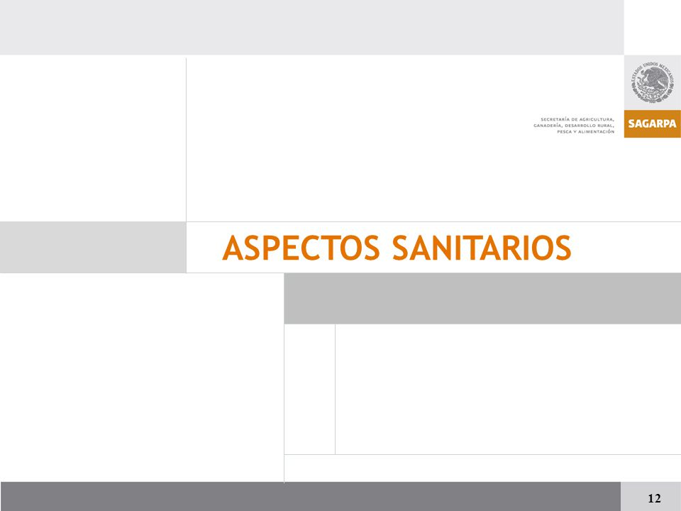 ASPECTOS SANITARIOS