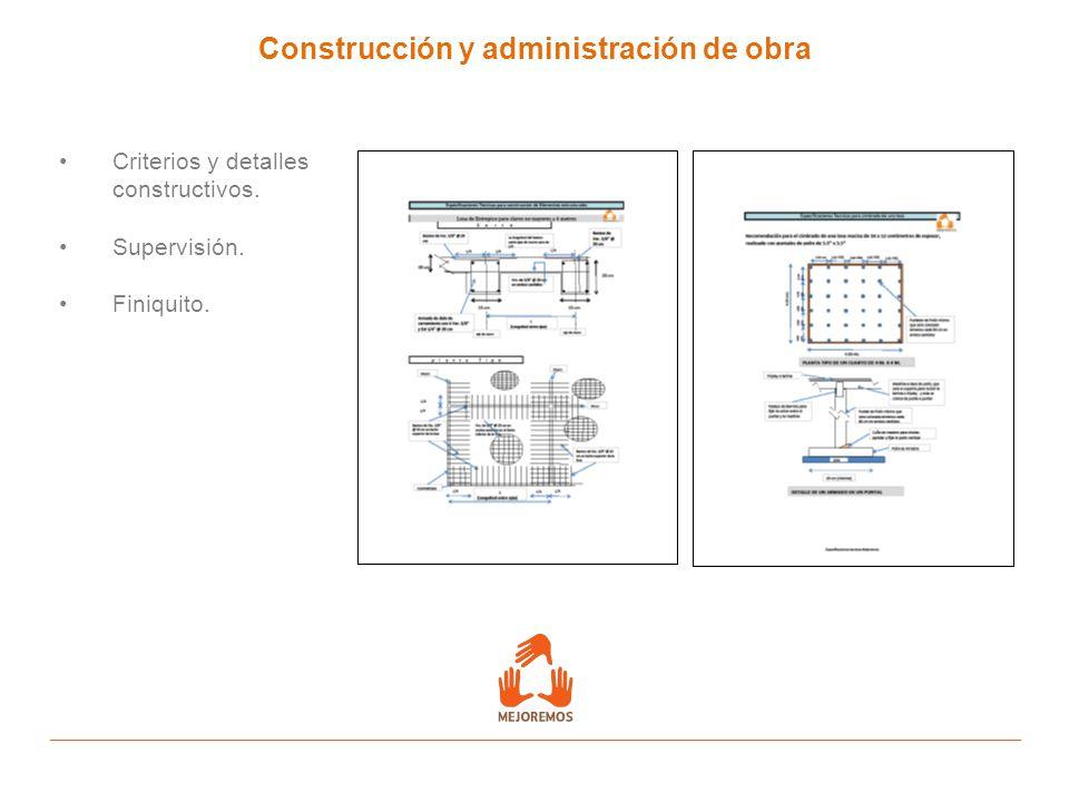 Construcción y administración de obra