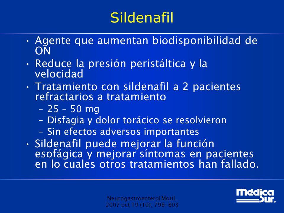 Neurogastroenterol Motil. 2007 oct 19 (10); 798-803
