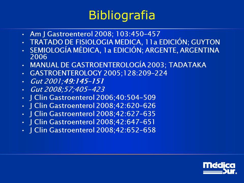 Bibliografia Am J Gastroenterol 2008; 103:450–457
