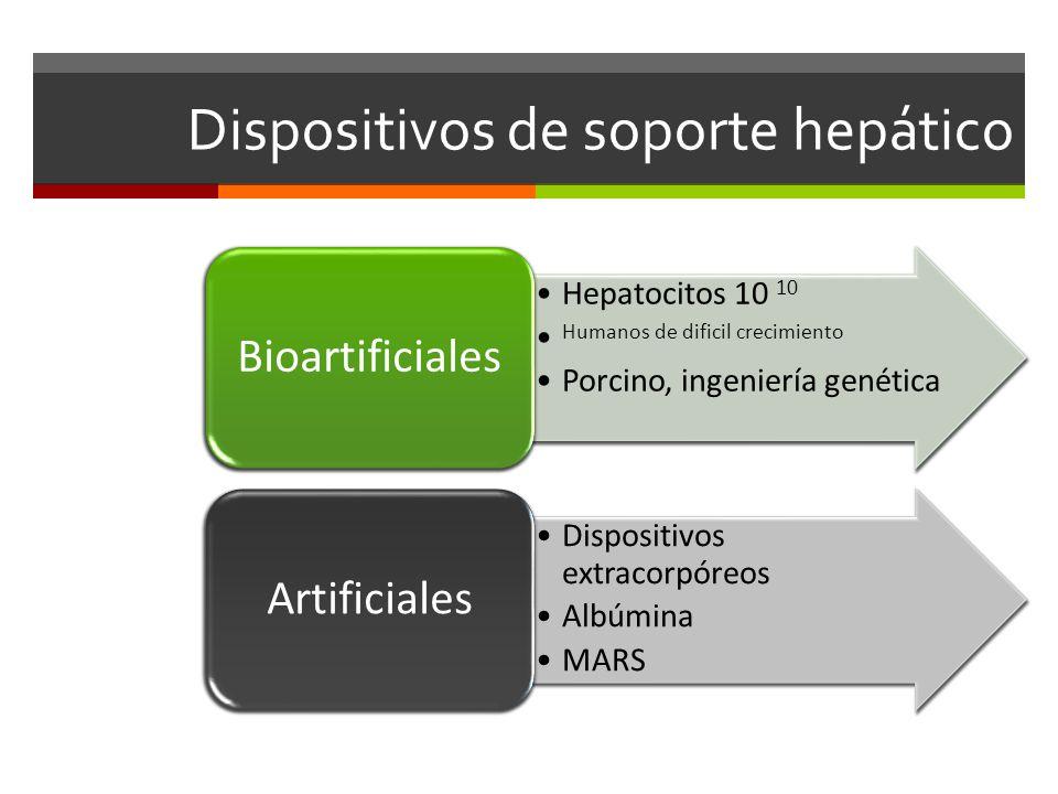 Dispositivos de soporte hepático