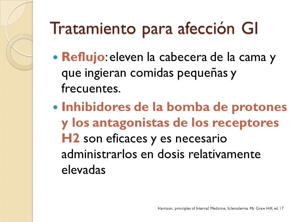 Tratamiento para afección GI