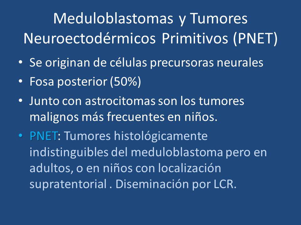 Meduloblastomas y Tumores Neuroectodérmicos Primitivos (PNET)