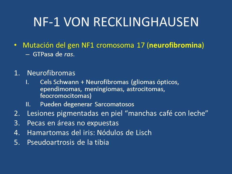 NF-1 VON RECKLINGHAUSEN