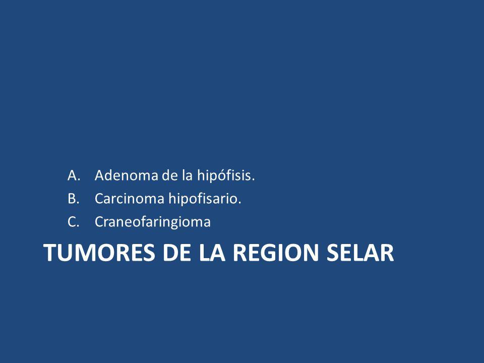TUMORES DE LA REGION SELAR