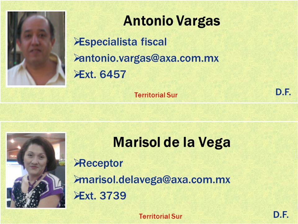 Antonio Vargas Marisol de la Vega