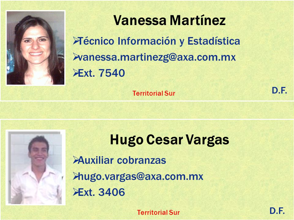 Vanessa Martínez Hugo Cesar Vargas