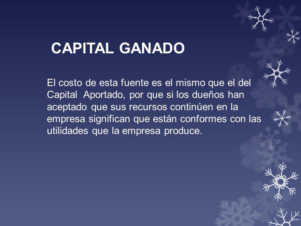 CAPITAL GANADO