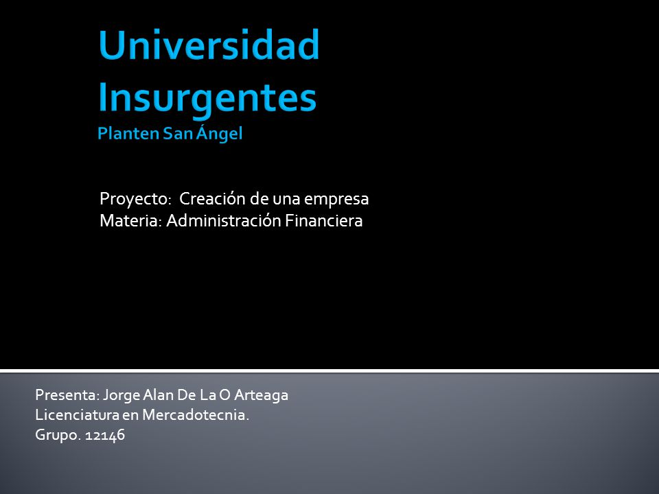 Universidad Insurgentes Planten San Ángel