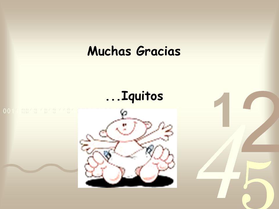 Muchas Gracias ...Iquitos