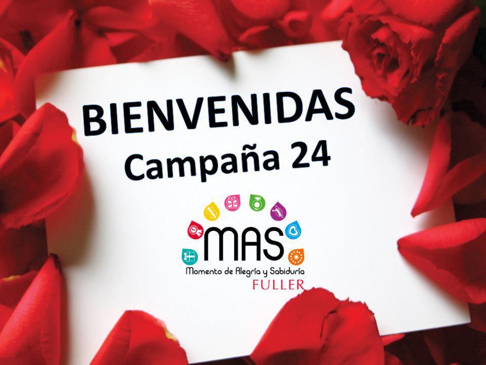 BIENVENIDAS Campaña 24