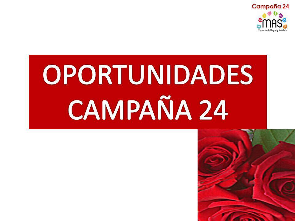 Campaña 24 OPORTUNIDADES CAMPAÑA 24