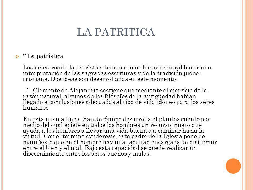 LA PATRITICA