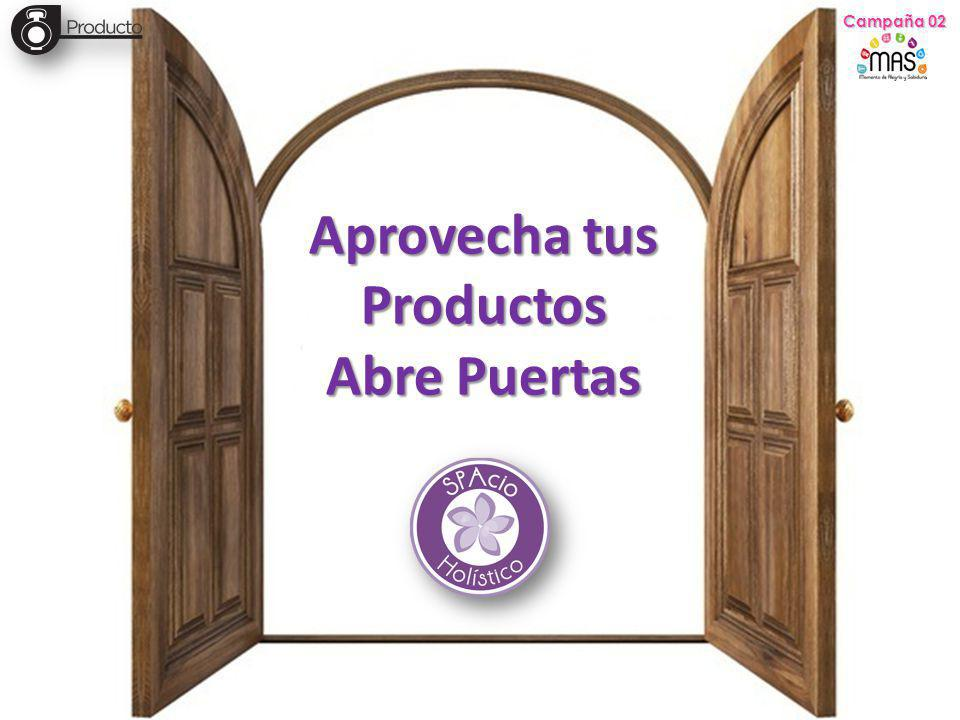 Aprovecha tus Productos