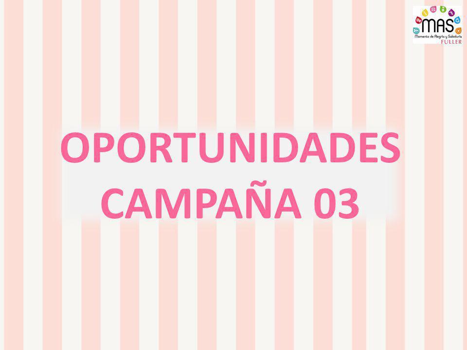OPORTUNIDADES CAMPAÑA 03