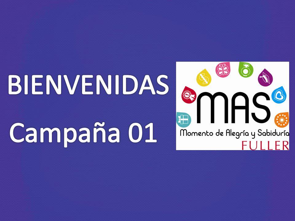 BIENVENIDAS Campaña 01