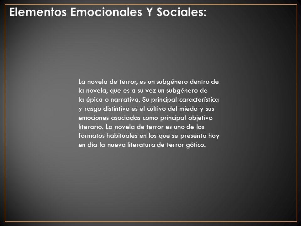 Elementos Emocionales Y Sociales: