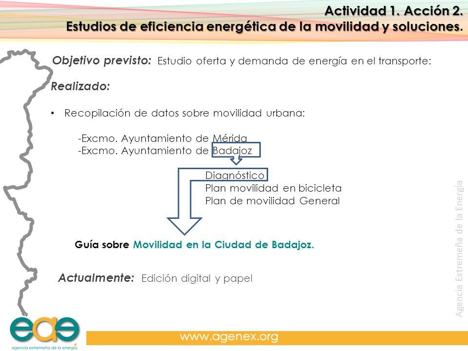 Estudios de eficiencia energética de la movilidad y soluciones.