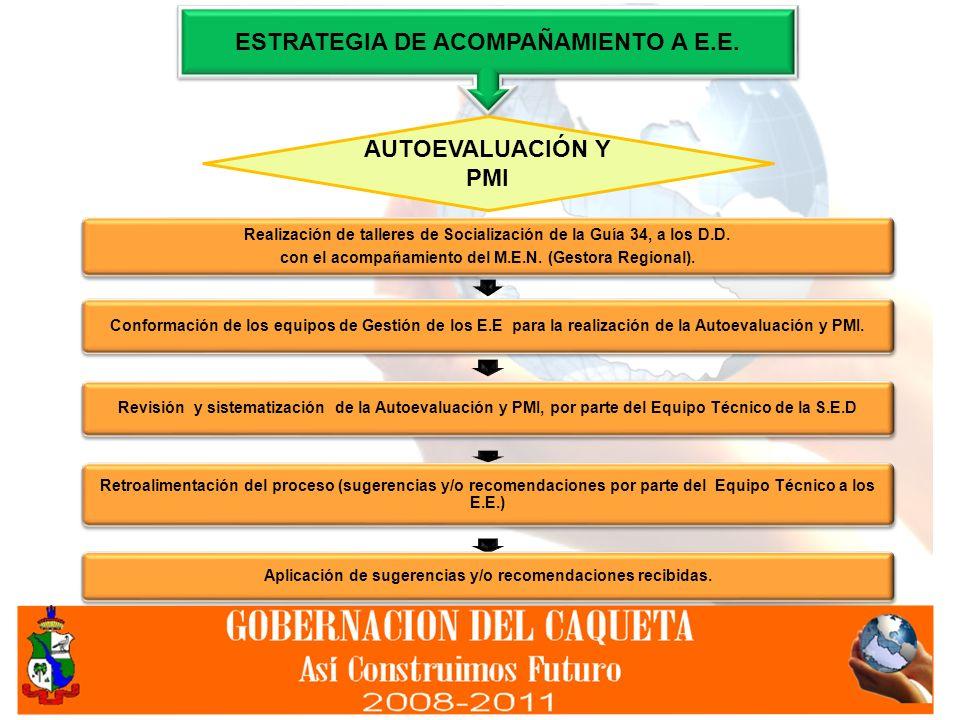 ESTRATEGIA DE ACOMPAÑAMIENTO A E.E.