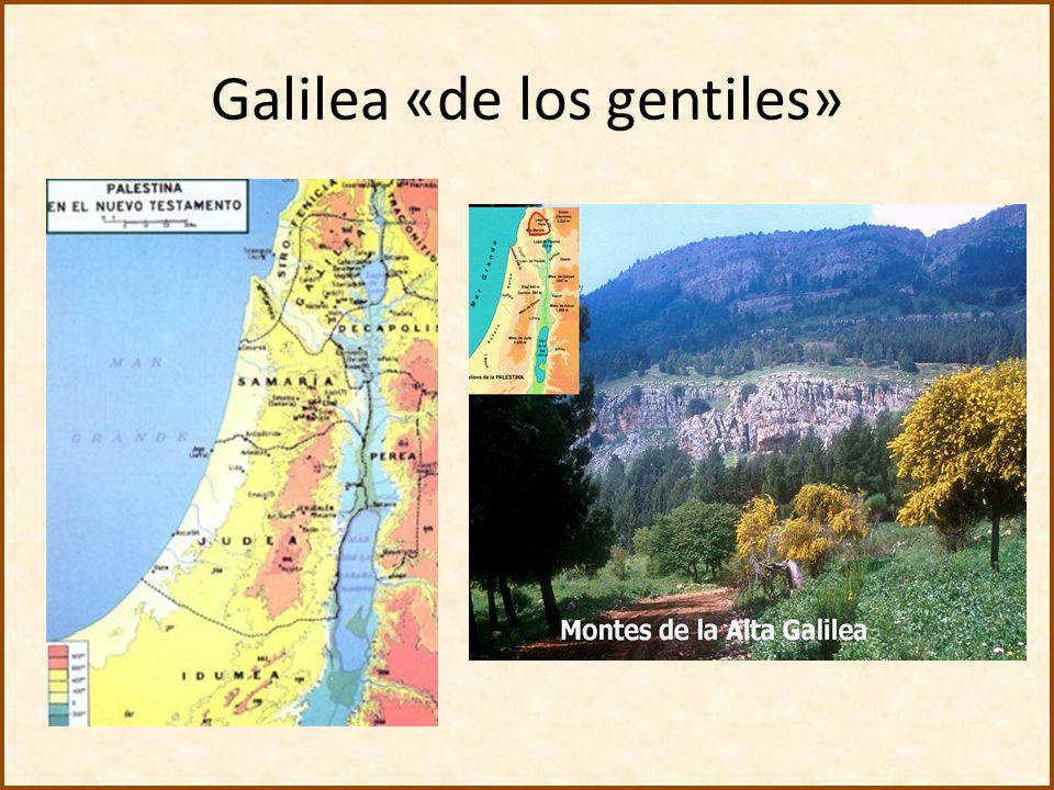 Galilea «de los gentiles»