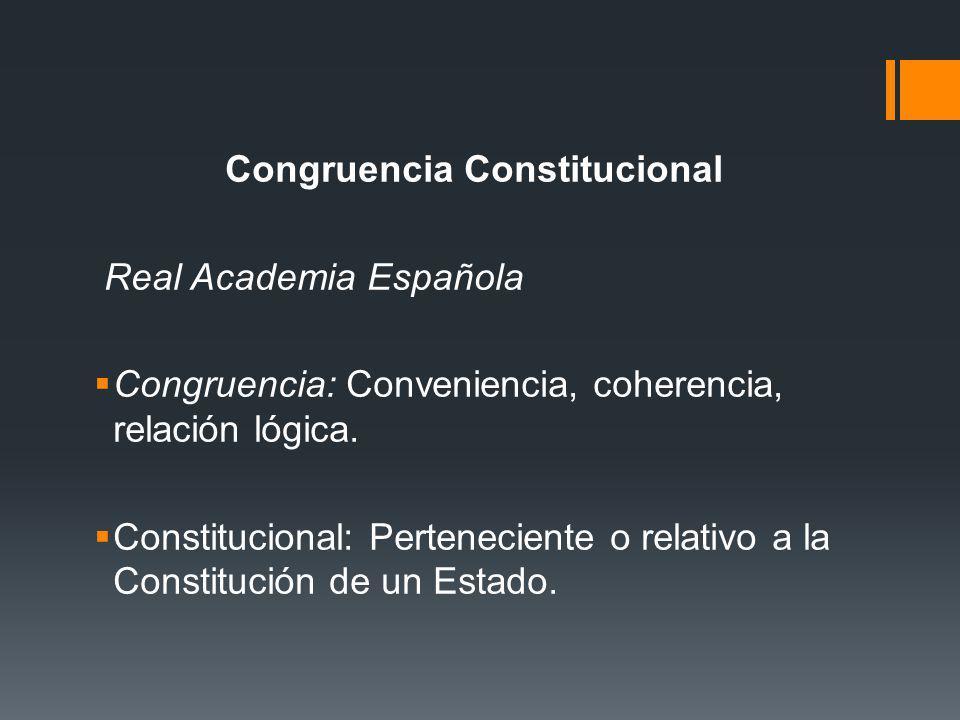 Congruencia Constitucional