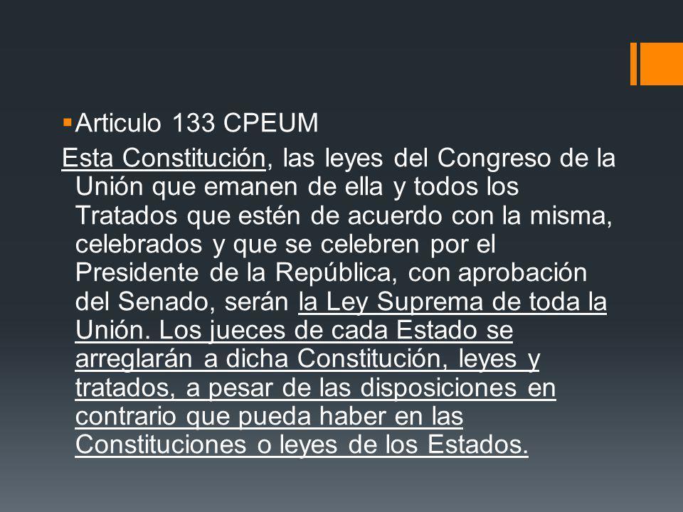 Articulo 133 CPEUM