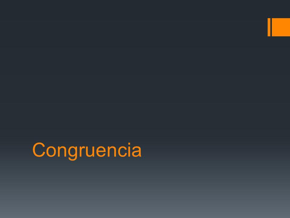 Congruencia
