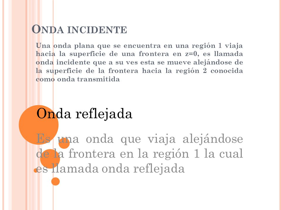 Onda incidente