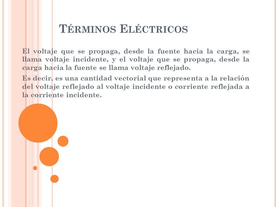 Términos Eléctricos