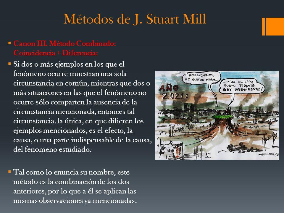 Métodos de J. Stuart Mill