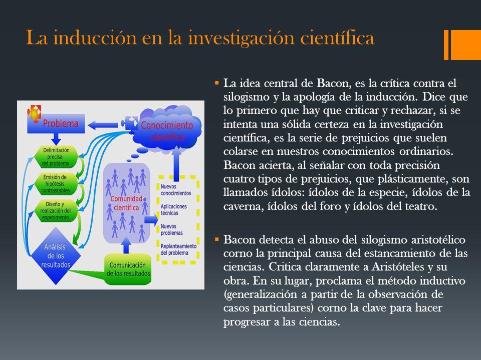La inducción en la investigación científica