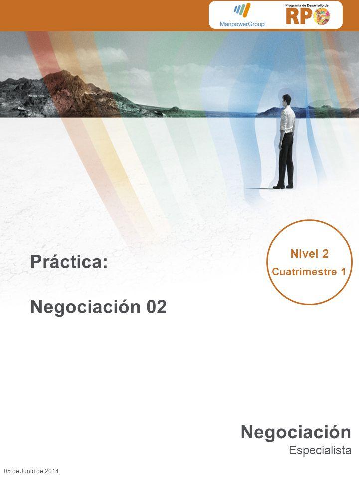 Práctica: Negociación 02