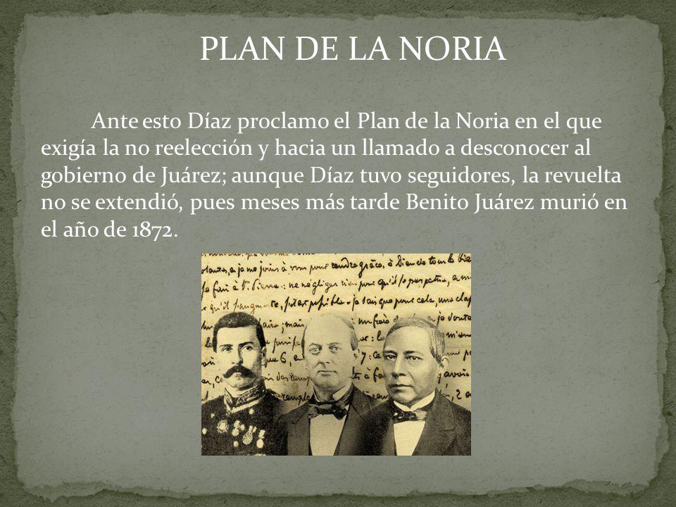 PLAN DE LA NORIA