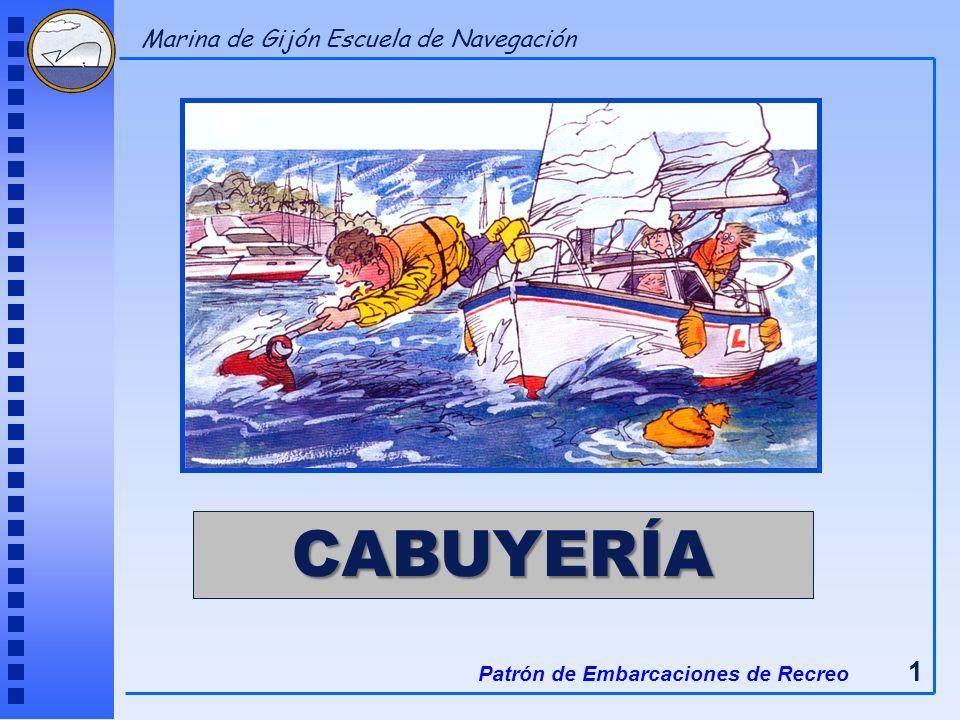 CABUYERÍA Marina de Gijón Escuela de Navegación