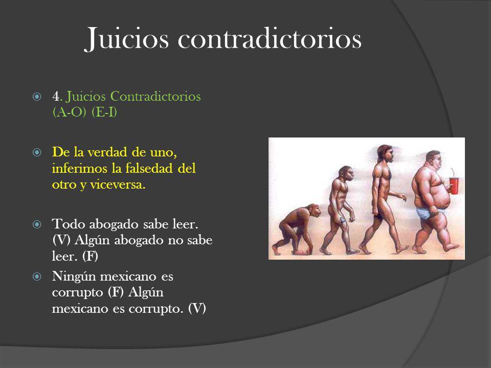 Juicios contradictorios