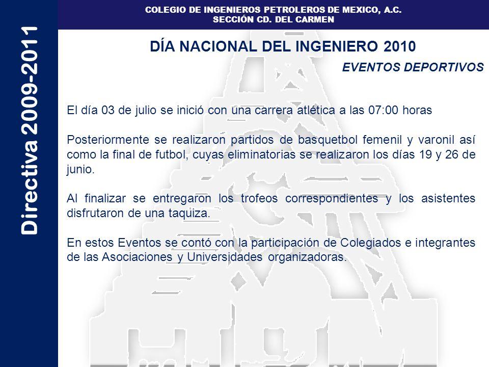 DÍA NACIONAL DEL INGENIERO 2010